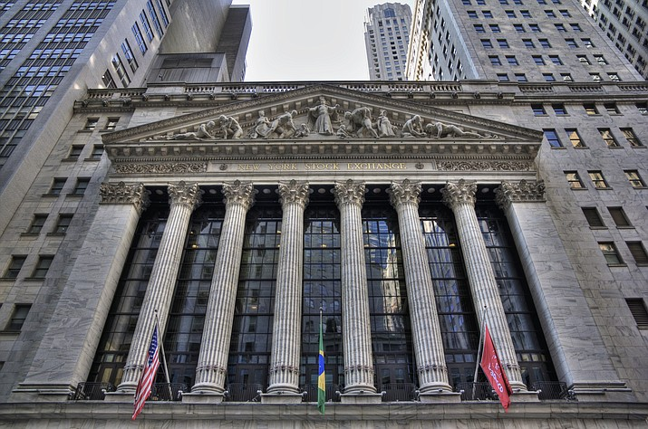 Strong results from major companies including Microsoft, Visa and Comcast are sending U.S. stocks sharply higher Thursday. (Photo by TomasEE [CC BY 3.0  (https://creativecommons.org/licenses/by/3.0)], via Wikimedia Commons)