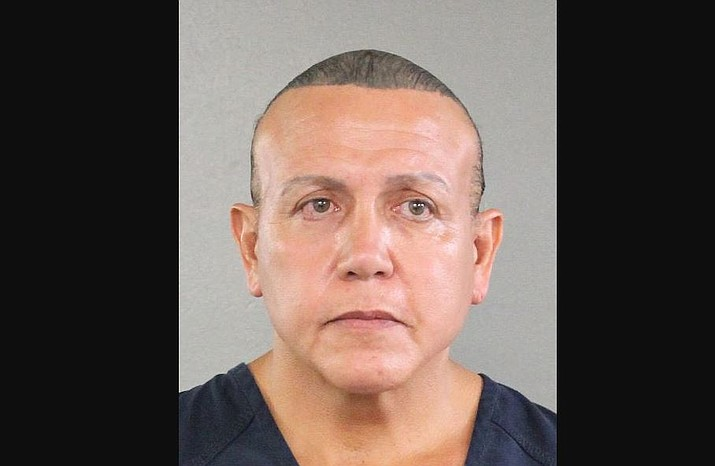 Cesar Sayoc, has been arrested in connection with the mail-bomb scare that earlier widened to 12 suspicious packages.