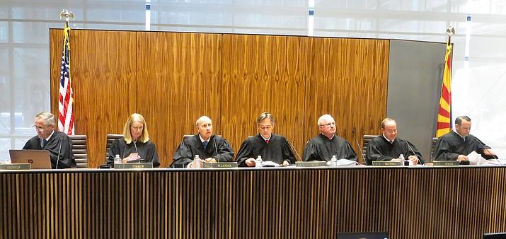 The Arizona Supreme Court (Howard Fischer/Capitol Media Services, file)