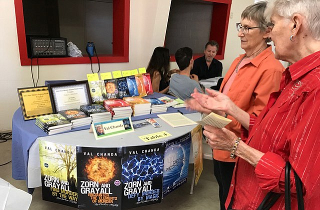 The 2018 Cottonwood Book Fair takes place during the Walkin' on Main event and will feature more than 30 Verde Valley authors showcasing and signing their books. City of Cottonwood courtesy photo