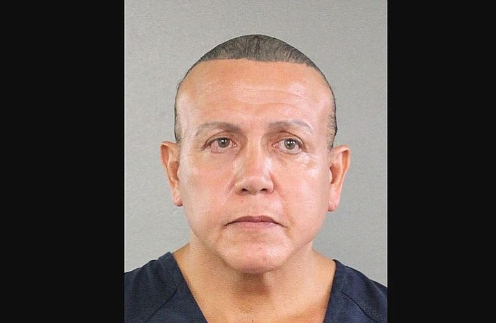 Cesar Sayoc, has been arrested in connection with the mail-bomb scare that earlier widened to 12 suspicious packages. (Broward County Sheriff's Office)
