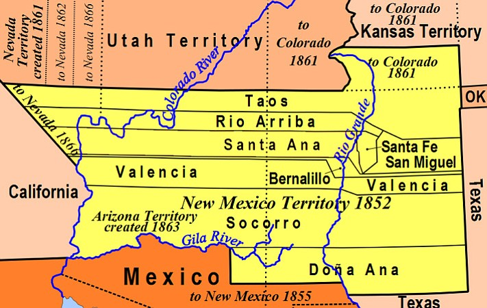 Days Past: How Arizona Got on the Map: Part 13 Arizona ... on alaska map, columbia river map, hawaii map, compromise of 1850 map, charleston map, magdalena de kino map, treaty of 1818 map, louisville purchase map, stephen austin map, mormon trail on a usa map, gadson purchase map, fort sumter map, texas annexation map, convention of 1818 map, great plains map, oregon country map, san francisco map, 13 colonies map, oregon territory map, republic of texas map,