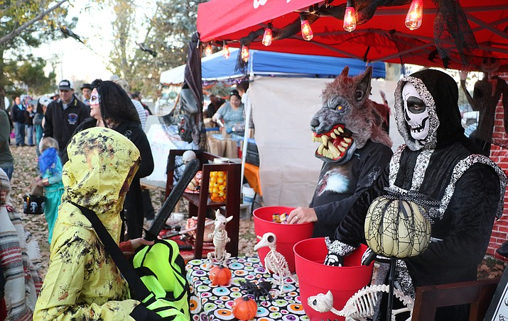 The 21st annual Trick or Treating in Memory Park is a safe and fun environment for kids to get the whole Halloween experience. (Matt Santos/Courtesy)