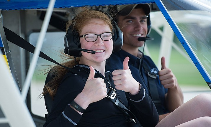 Those attending the flight rally on Nov. 3 are asked to register by emailing their contact information with the name and age of the interested Young Eagles, to: P52YoungEagles@yahoo.com.  Hourly flights will be flown at 8, 9, 10 and 11 a.m. Photo courtesy Sid Lloyd