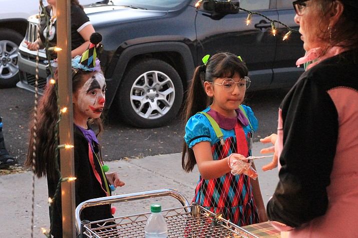 Students enjoy the festivities at the Heritage School Halloween party Oct. 26.