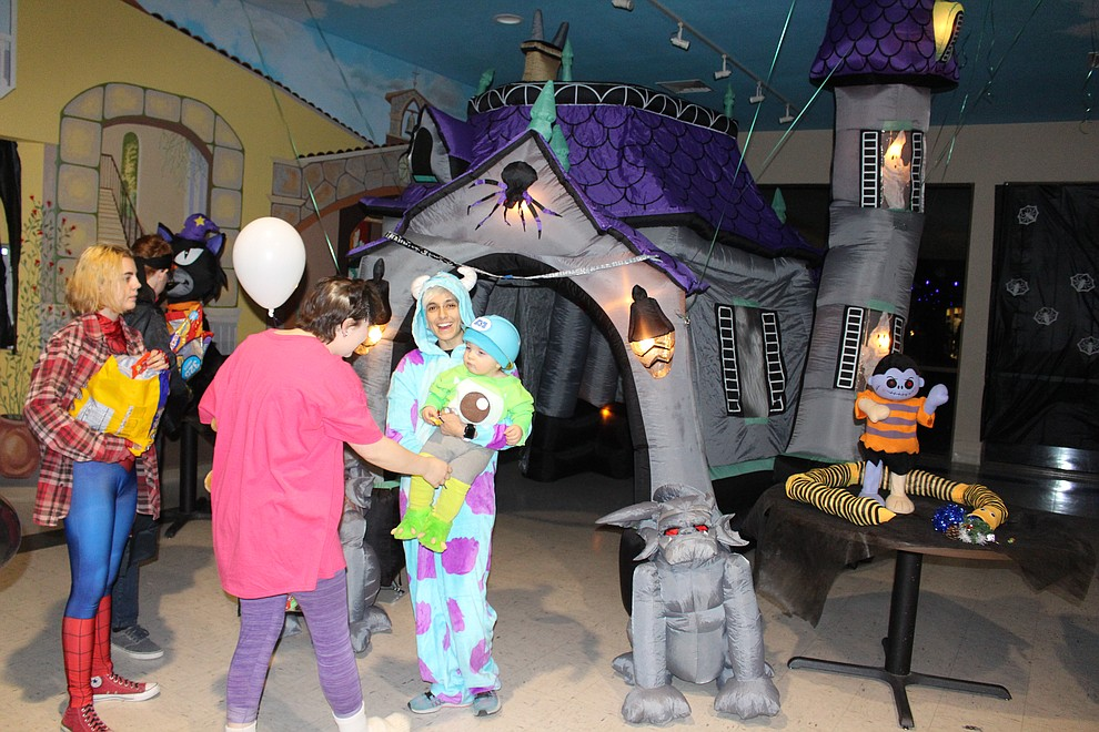 The Gardens put on a Halloween bash with candy, games and activities for trick-or-treaters.