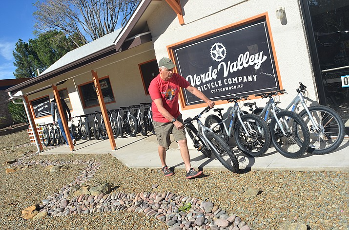 The Verde Valley Bicycle Co., located in Cottonwood, will also maintain and repair the schools' bikes for life, according to manager Randy Young. VVN/Vyto Starinskas