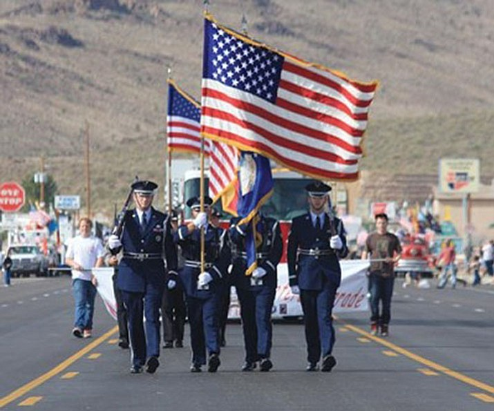 The annual Veterans Day Parade kicks off at 10 a.m. Saturday at Beale and Sixth streets. (Daily Miner file photo)
