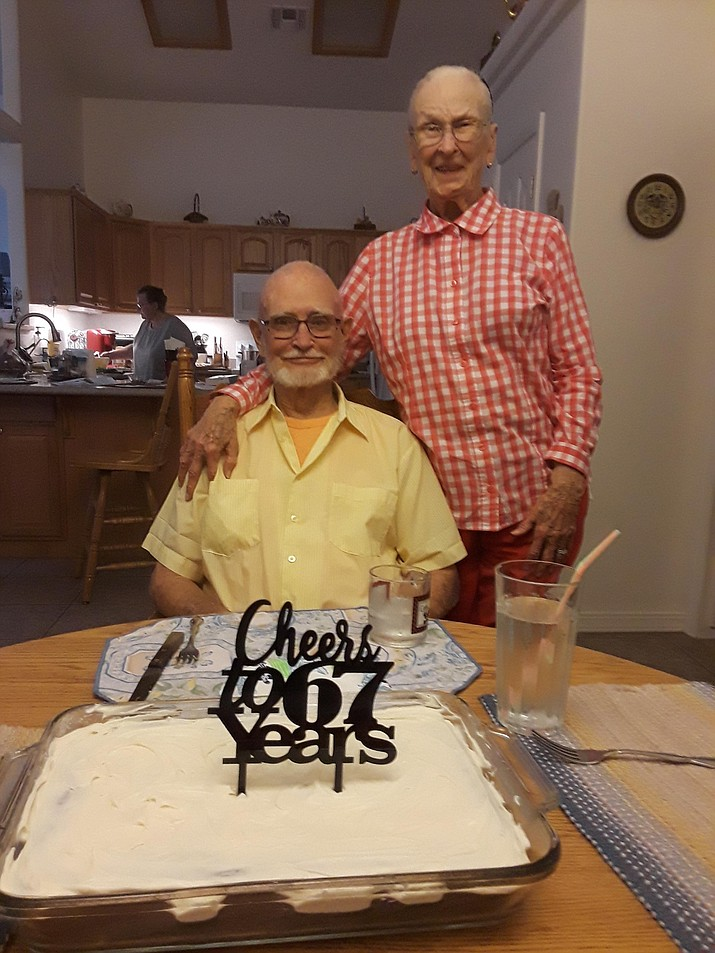 Mr. and Mrs. Myron D. Bethel celebrated their 67th wedding anniversary on Friday, Sept. 21. (Courtesy)