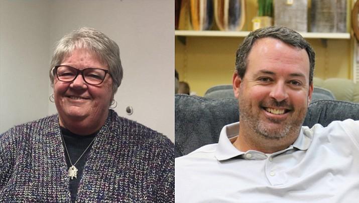 Penny White and Dan Del Monaco are running for Hospital District No.1 board member.