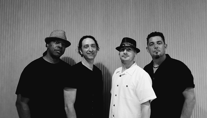 Mike Wade, lead guitar & vocals. Ivan Wade, bass guitar. Tony Rousseau. Lead vocals & sax Eddie Barratinni, drums & vocals.