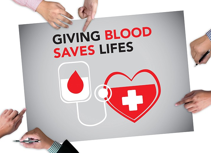 Blood donors are needed on an ongoing basis to ensure safe levels of blood in our community. The blood drive will be held from 10 a.m. to 6 p.m. Wednesday and from 9 a.m. to 5 p.m. Thursday.(Adobe Image)