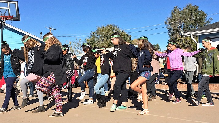 Acorn Montessori Charter School celebrated United Nations Day on Wednesday, Oct. 31, with dancing and singing performances, research projects and food from countries all over the world. (Courtesy)