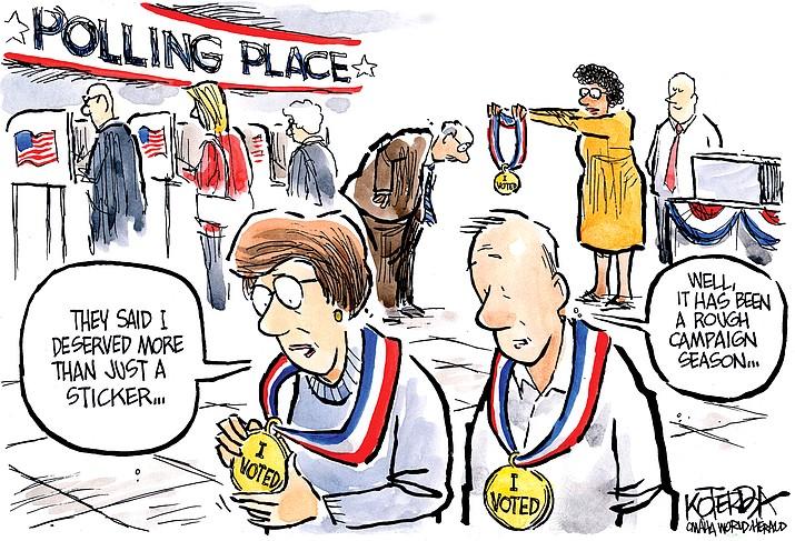 Editorial Cartoon | November 7, 2018