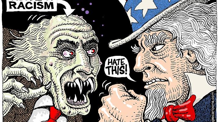 Editorial cartoon (c): Nov. 7, 2018