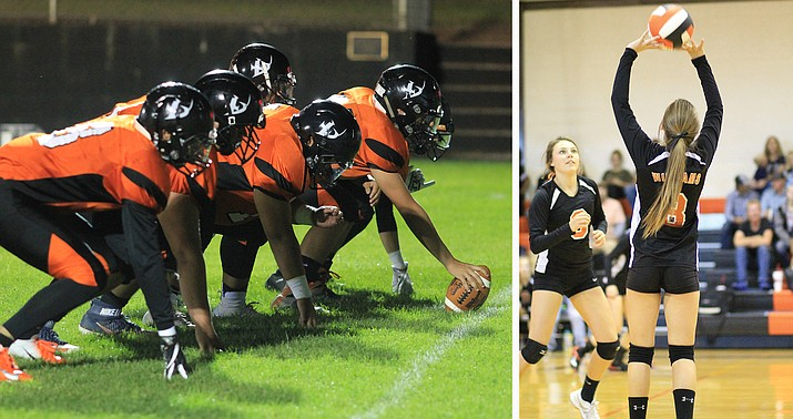 Vikings football and volleyball teams finished their state playoff runs this weekend. The Vikings lost to Hayden in the semifinals and the Lady Vikes lost to NFL YET. (Wendy Howell/WGCN)