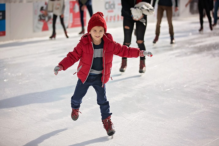 Beginning Nov. 17 and running through Jan. 7, Prescott Valley Event Center is open for public ice skating, Open Hockey and Adult Hockey League games. (File photo)