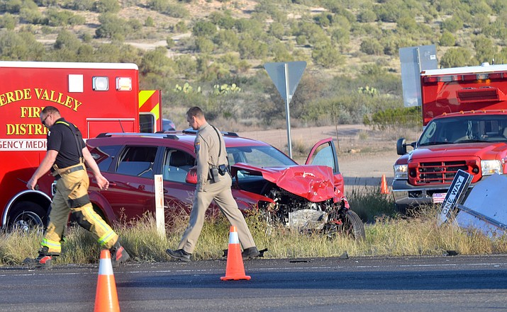 State Route 89A north was closed at Page Springs Road between Cottonwood and Sedona at 4:30 p.m.Thursday. A medical helicopter landed on the highway and the Department of Public Safety was at the scene investigating. The Verde Valley Fire District also responded. VVN/Vyto Starinskas