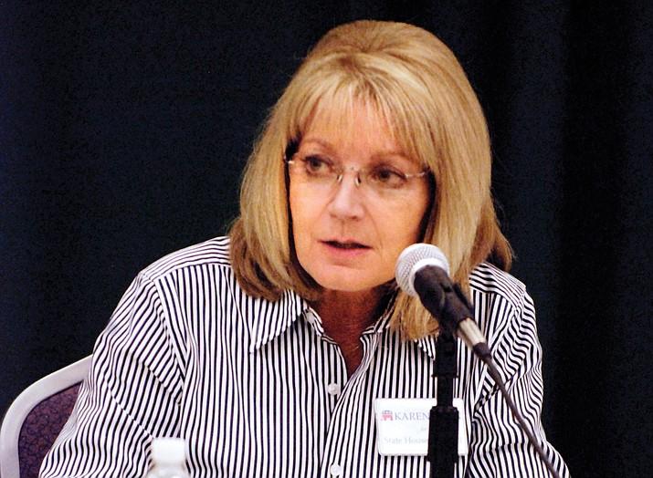 Karen Fann of Prescott was chosen Wednesday by her Republican colleagues as Senate president. VVN file photo