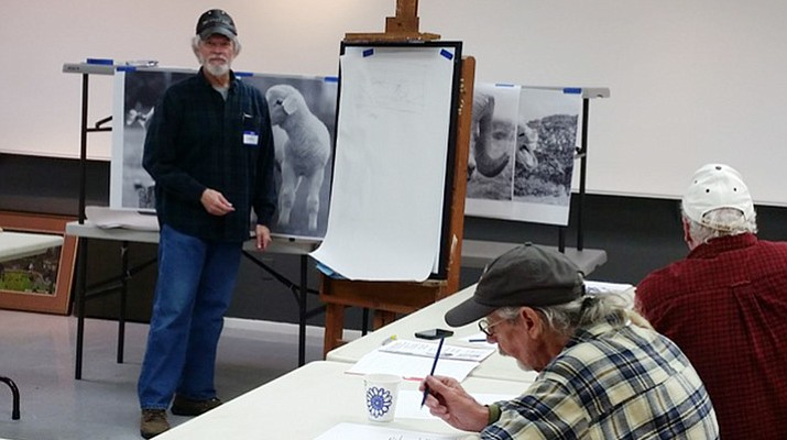 Teaching art to veterans