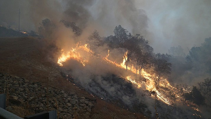 The fire in Northern California is now at 20,000 acres in Butte County. (U.S. Fire Service photo)