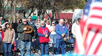 Hometown heroes honored at Veterans Day Parade; great experience, says new resident photo
