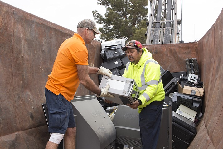 Technology Recycle Drive at 9 a.m. until noon at the City of Kingman Public Works Yard at 3700 E. Andy Devine Ave. 928-692-3015. (Daily Miner file photo)
