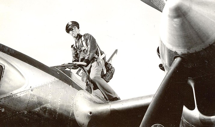 A reconnaissance pilot during World War II and the Korean War, Col. J.B. Smith's aircraft was shot down in 1951 in North Korea, where he spent 30 months in a POW camp before being released in 1953. Photo courtesy of Brian White