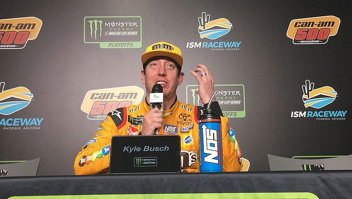 Kyle Busch wins thrilling Can-Am 500 to set the stage for championship race