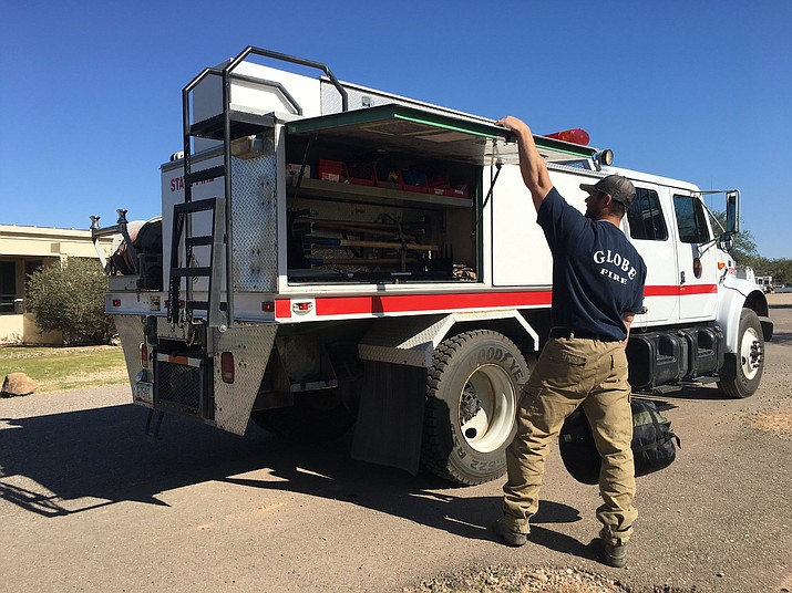 The Arizona Department of Forestry and Fire Management has deployed nearly 150 firefighters from throughout the state to help fight several deadly blazes currently ripping through California.