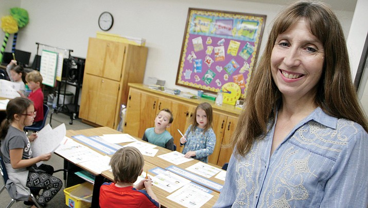 Q&A with VERDE VALLEY'S EDUCATOR OF THE WEEK   Debra Terrey, first grade teacher, Verde Christian Academy