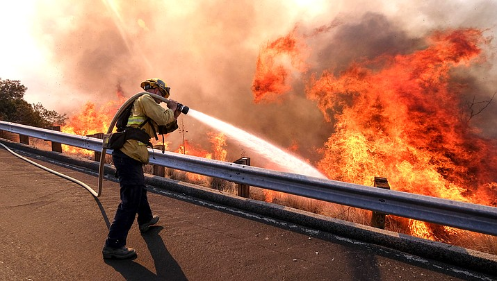 Bellemont crew among firefighters, engines responding to California wildfires