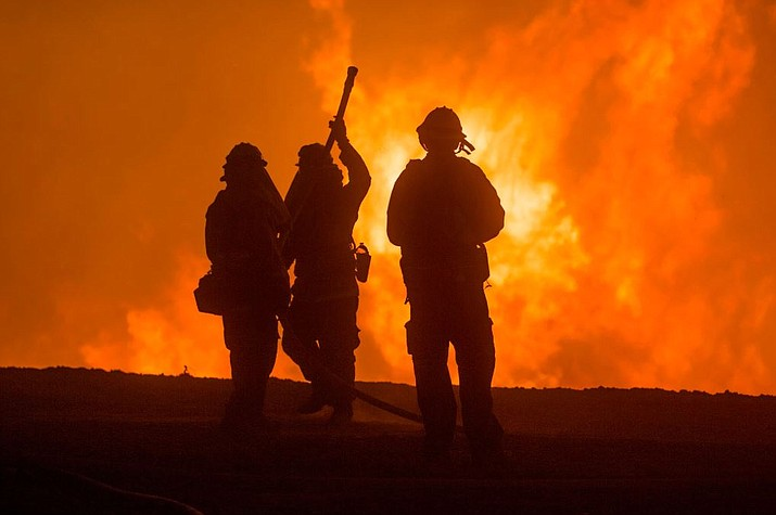 The USDA Forest Service is supporting fire suppression efforts in California, where two massive wildfires burn at opposite ends of the state. (U.S. Forest Service photo)