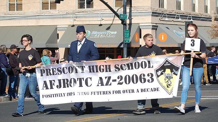 Winners announced for 2018 Prescott Veterans Day Parade