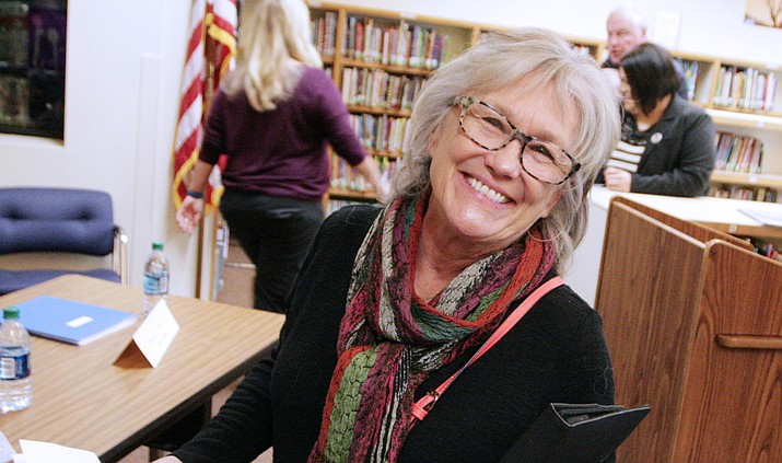 For the first time since 2008, Becky O'Banion is not a part of the Clarkdale-Jerome School Board. VVN/Bill Helm