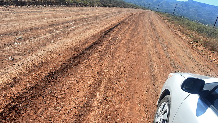 Garrison sets sights on paving Ogden Ranch Road
