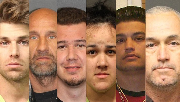 These six individuals have either an outstanding warrant or have been captured by Mohave County Sheriff's Office.