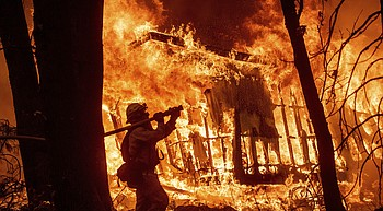 Northern California fire death toll at 56; 130 missing photo