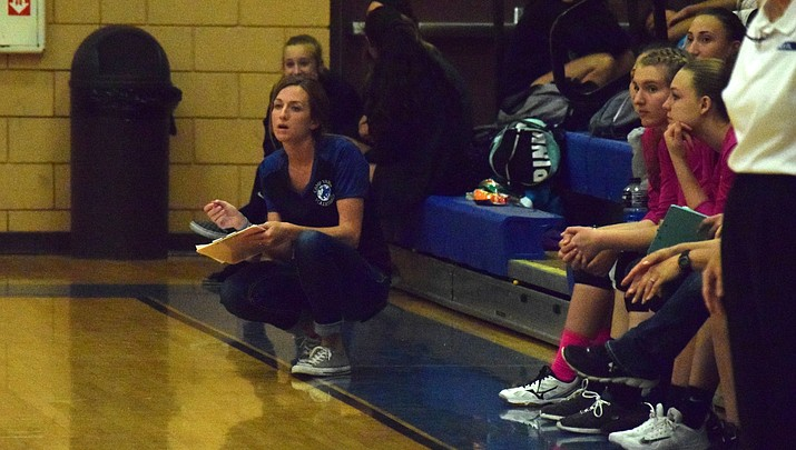 Camp Verde volleyball's Armstrong wins 2A Central Region coach of the year