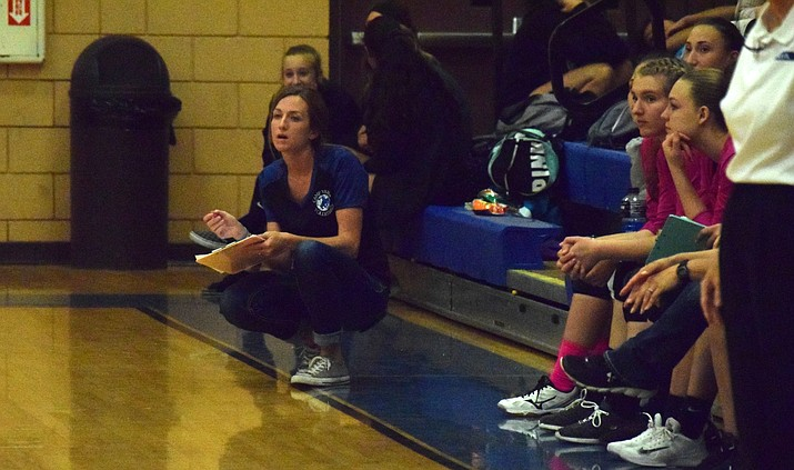Camp Verde head coach Britney Armstrong was selected Central Region coach of the year after her third season at the helm. VVN/James Kelley