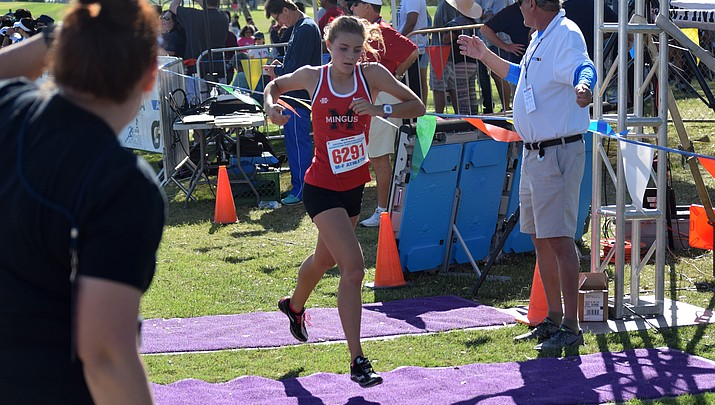 Meg Babcock finishes 94th at state cross country meet
