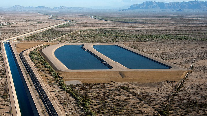 Superstition Mountains Recharge Project (Central Arizona Project)
