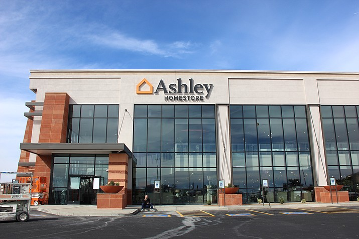 Ashley Home Store opened a Prescott location on Friday, Nov. 16, where The Roomstore used to be by the Prescott Gateway Mall. (Max Efrein/Courier)