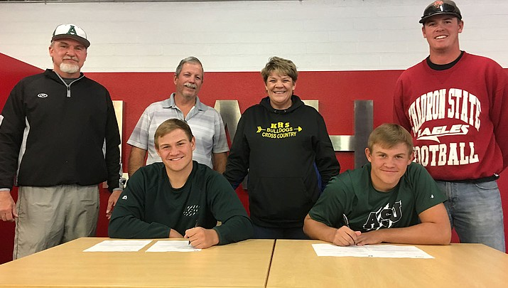Bathauer brothers to play ball at Adams State