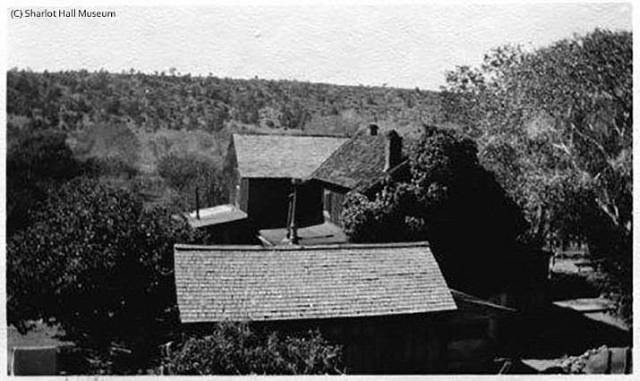 View of Orchard Ranch. (Sharlot Hall Collection, MS-12, Call#1928.0001.0201. Courtesy of the author and Sharlot Hall Museum Library & Archives)