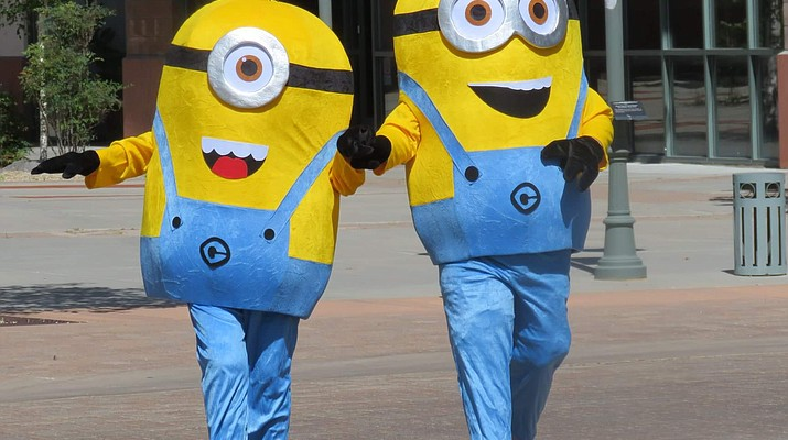 Photo: Minions at Gateway Mall