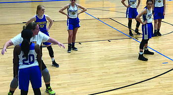 Preview: Young Badger girls' basketball team looks to compete in tough 4A conference photo