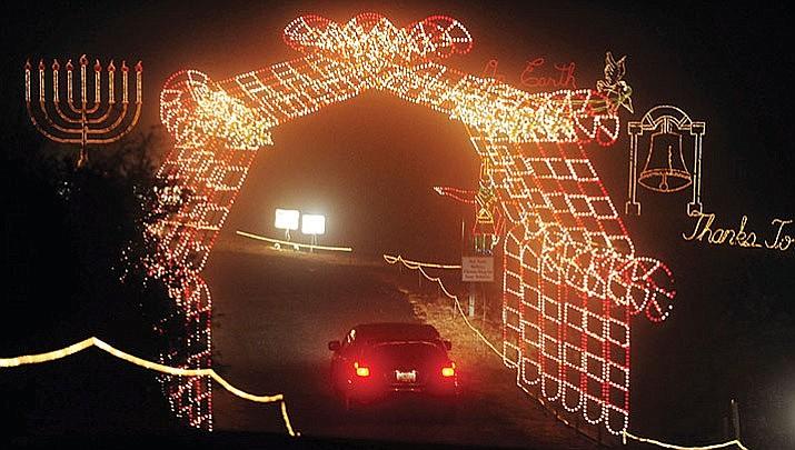 Valley of Lights is underway in Prescott Valley. (Courier file)