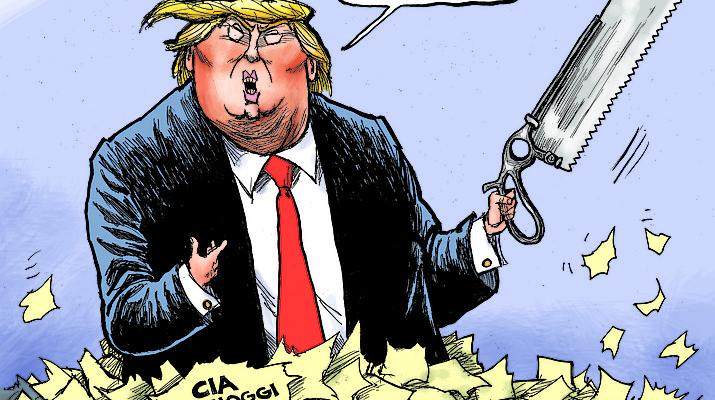 Editorial cartoon (2): Nov. 20, 2018