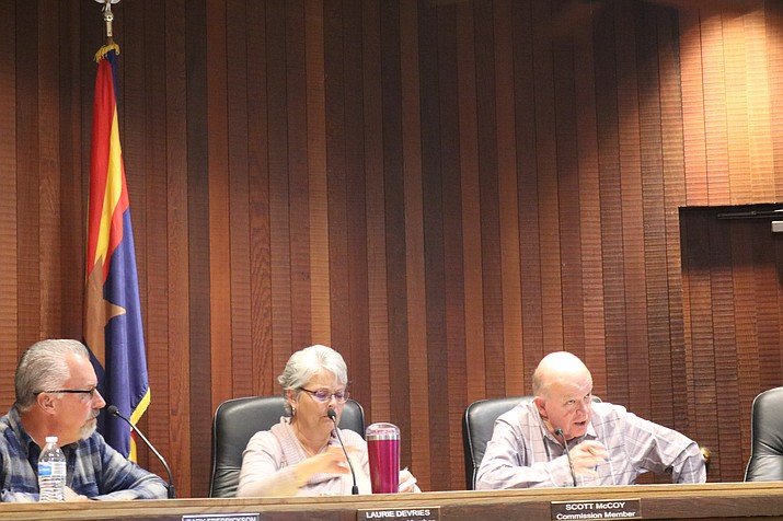 Planning and Zoning commissioners agreed with their peer Scott McCoy that the two text amendments approved by the commission Nov. 13 are good for the City of Kingman and its residents. (Photo by Travis Rains/Daily Miner)